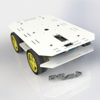 CNC LAB 4WD Robot kit