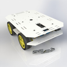 CNC LAB 4WD Robot kit