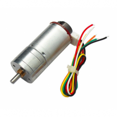 JGA25-370 DC Gear motor with Speed Encoder 6V 210RPM