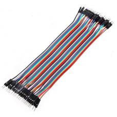 Jumper wires 40P 20 cm M/M