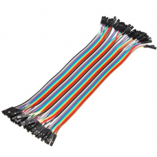 Jumper wires 40P 30 cm F/F
