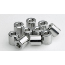 Aluminum Spacers 5.2mm*10mm*1/4""