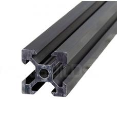 Black 500 mm Length T-Slot