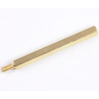 Female to Male Spacer Brass M3*40+6mm