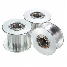 GT2 16T W6 B3 Without Tooth Aluminum Timing Drive Pulley