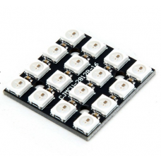 16-Bit 5V 5050 RGB LED Board WS2812B-4*4
