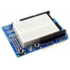 Prototyping shield + Mini Breadboard