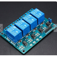 5V 4 Channel Relay Board Module