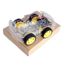 4WD Rectangular Robot Kit