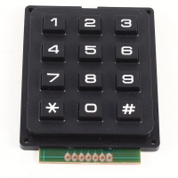 4 X 3 Matrix Keypad 12 buttons