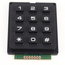 4 X 3 Matrix Keypad 12 buttons