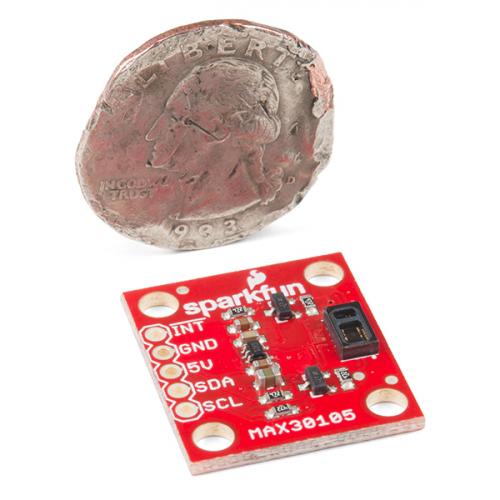 Particle Sensor Breakout - MAX30105 Heart rate-SpO2 19 70