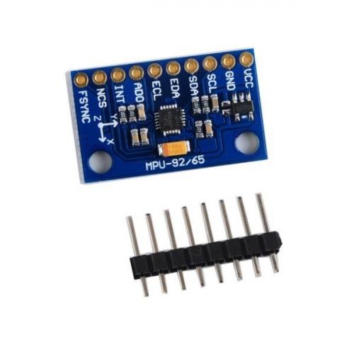 MPU-9250 Sensor I2C SPI Communication 9-Axis