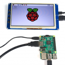 7 inch LCD HDMI Touch Screen Display TFT LCD Panel Module 800480 for BananaPi RPi 23 Model BB+