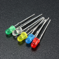 5mm LED Yellow (5/pack)