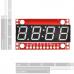 SparkFun 7-Segment Serial Display - Blue