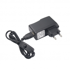 Wall adapter Power 5V 2.5A for Rasp. Pi