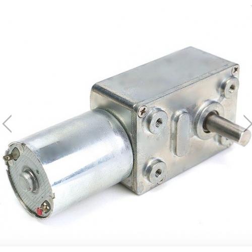 Reversible High torque Turbo Worm Gear Motor JGY370 DC 12V 40RPM