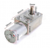 Reversible High torque Turbo Worm Gear Motor JGY370 DC 12V 40RPM
