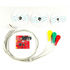 DIY EMG Muscle Signal Sensor Kit With Professional EMG Cable