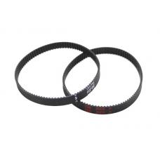GT2 Timing Belt Loop Rubber 6mm Width 2mm Pitch 112MM