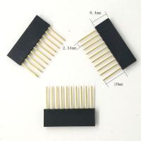 2.54MM 10Pin 10MM Long Needle Female Pin Header