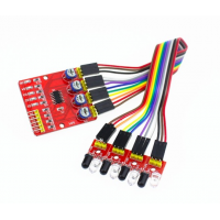 4 Channel Infrared Detector Tracked Photoelectricity Sensor For Smart Car