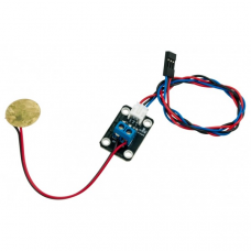 Piezo disc vibration sensor