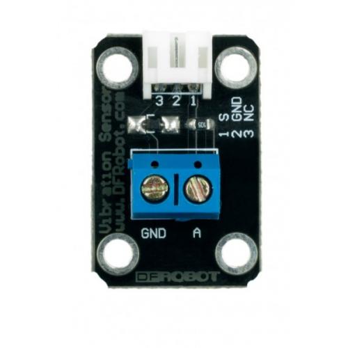 Piezo disc vibration sensor