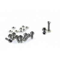 10 sets M3x12 screw low profile hex head cap screw