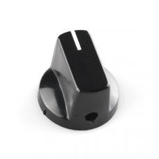 Black Knob - 15x19mm