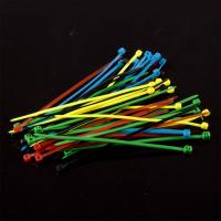 Nylon Cable Tie Set - Five Colors(50pcs)