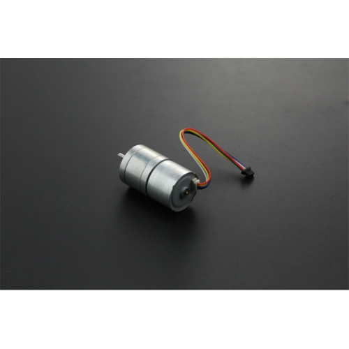 Brushless DC Motor with Encoder 12V 159RPM - Built in Driver